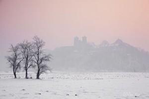Klasztor zima